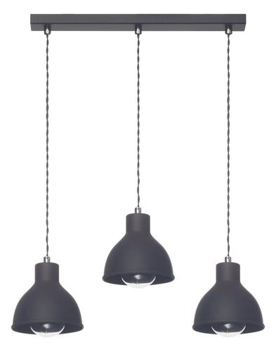 Design Hanging Lamp Zoe 3 L Black