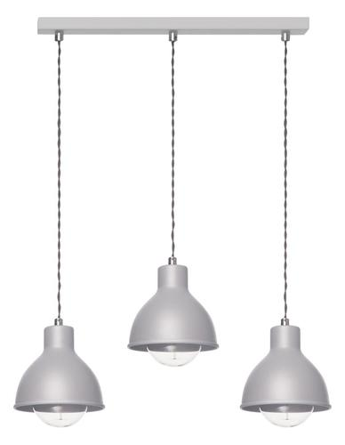Modern Hanging Lamp Zoe 3 L Gray