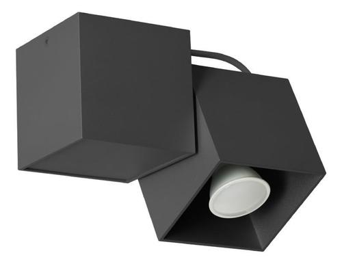 Designer Ceiling Lamp Kraft 1 Black