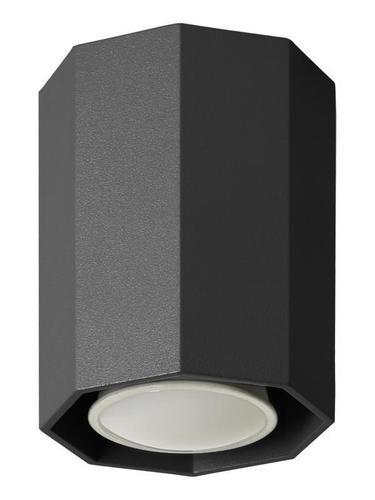 Modern Okta 10 Black Ceiling Lamp