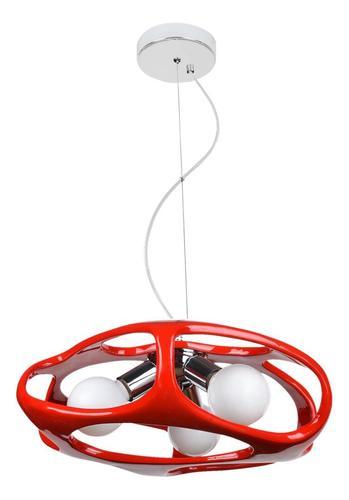 Modern Amano Red Pendant Lamp