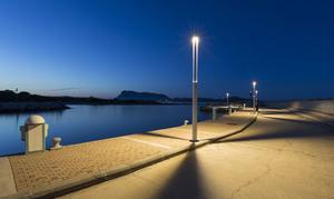 Platek garden lantern - TRIS COB LED 3000K small 0