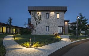 Platek garden lantern - TRIS COB LED 3000K small 8