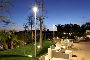 Platek garden lantern - TRIS COB LED 3000K small 4