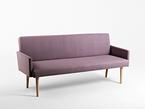 REDEN 3 seater sofa - amethyst (ml61), natural
