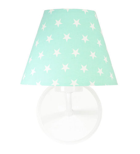 Wall lamp mint Raggio E27 60W white stars