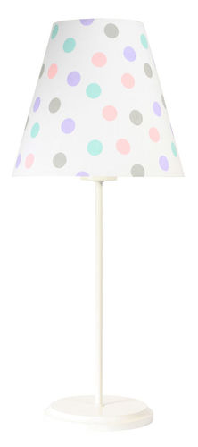Children's table lamp Ombrello 60W E27 50cm pastel dots