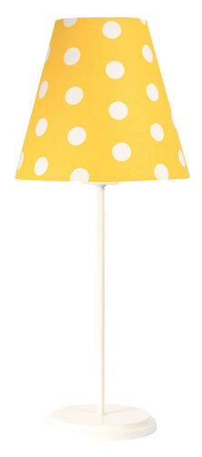 Desk lamp for a child Ombrello 60W E27 50cm golden / white dots