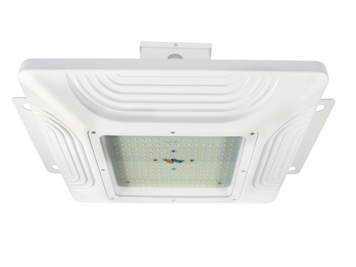 LED Petrol CANOPY luminaire FOR FUEL STATIONS 150W 21300 LM IP65 DAILY