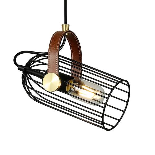 Black Antoin E27 Hanging Lamp