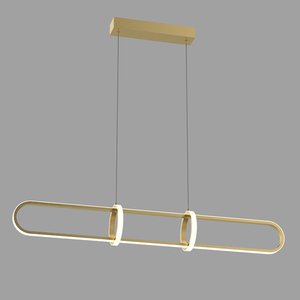 Cerrila LED Gold Pendant Lamp small 1