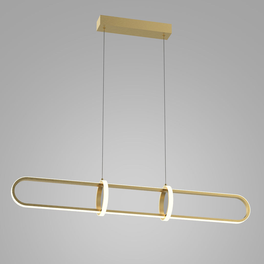 Cerrila LED Gold Pendant Lamp