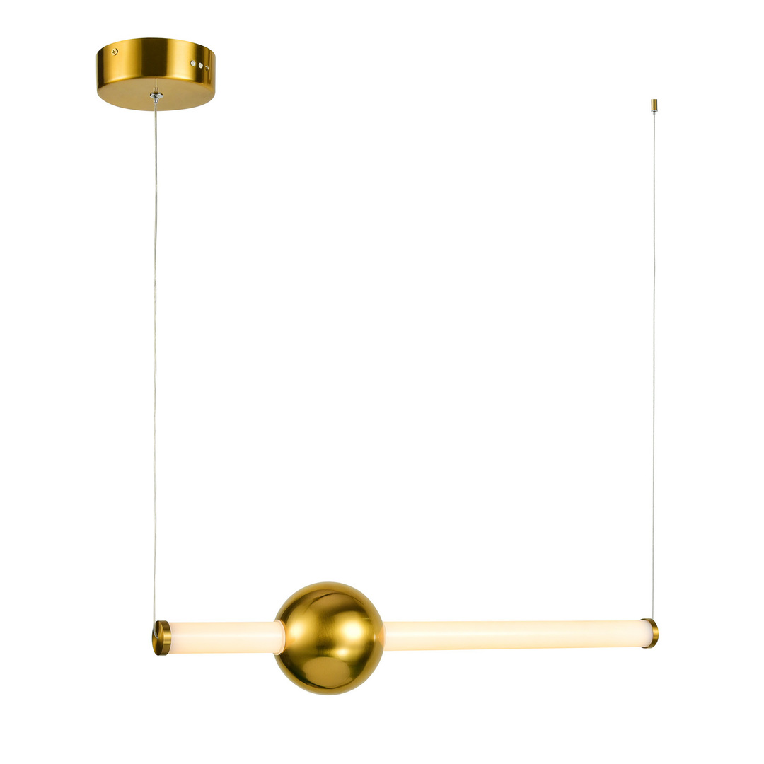 Copper Halling LED Pendant Lamp