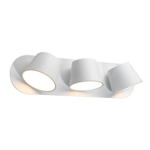 White modern Kuola LED wall lamp