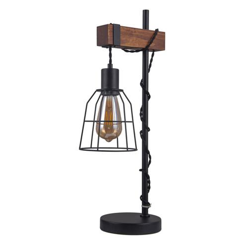 Black Desk lamp Reda E27
