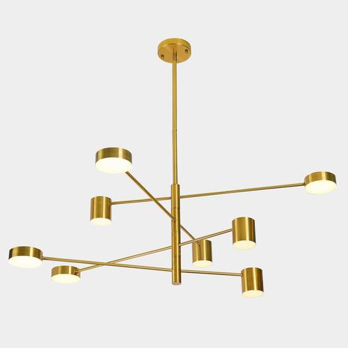 Copper Pendant Lamp Remdal ITALUX LED