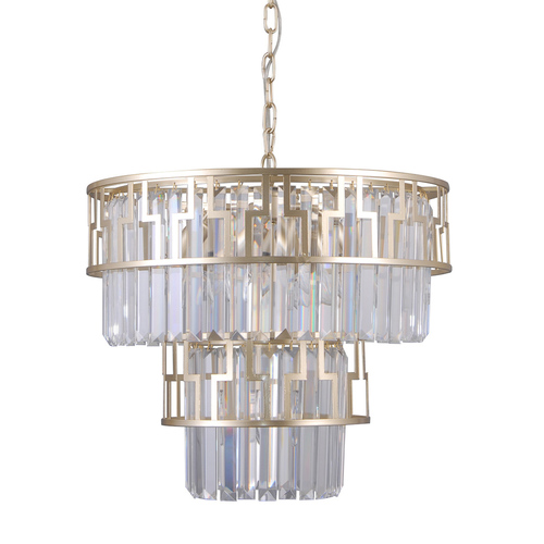 Black Hanging Lamp Filip E14, 7-bulb