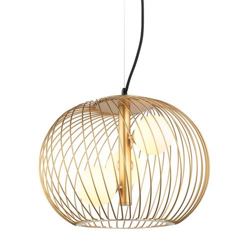 Clarisa G9 Gold Pendant Lamp 3-bulb