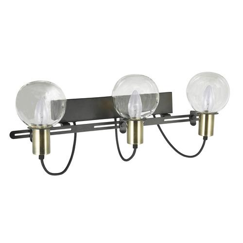 Modern Brown Wall Lamp Gianni E14 3-bulb