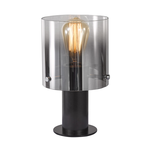 Black Javier E27 desk lamp