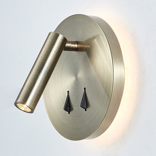 Brown Nelly LED bedside lamps
