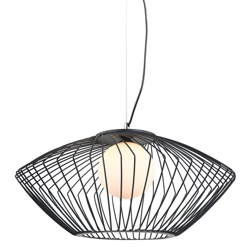 Black Zeno E27 Pendant Lamp