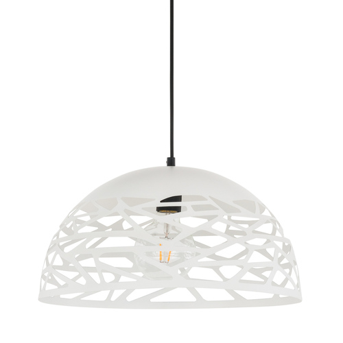 White Armand E27 Pendant Lamp