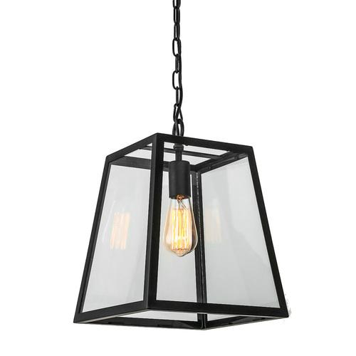 Black Hanging Lamp Laverno E27