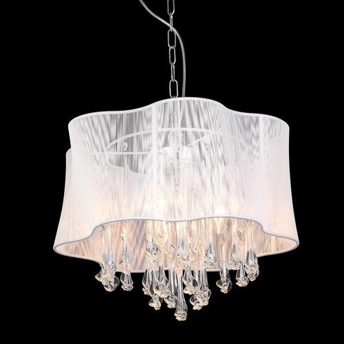 Cali E14 White Pendant Lamp 3-bulb