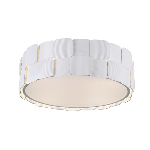 Modern White Elisa E27 4-point ceiling lamp