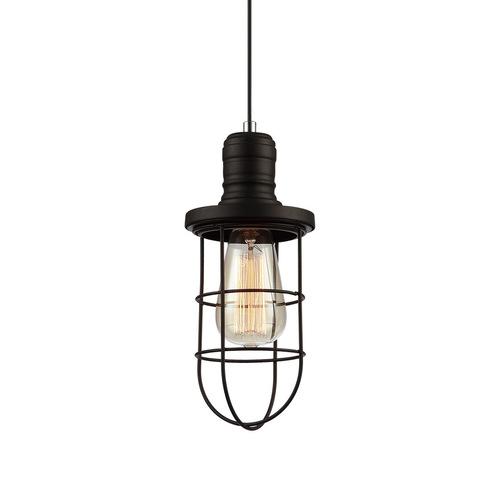 Black Synthia E27 Pendant Lamp