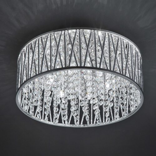 Modern Vanessa G9 6-point ceiling lamp