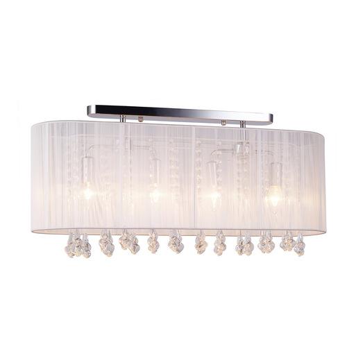 White Isla E14 4-point ceiling lamp