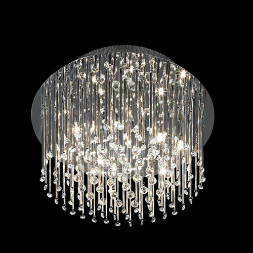Classic 12-point Angel G4 Crystal Ceiling Lamp
