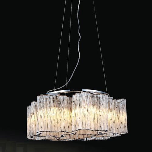 Classic Antonio E27 Hanging Lamp, 6-bulb