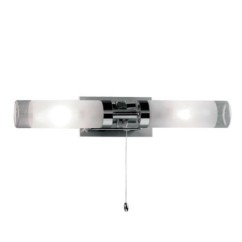 Modern Bathroom Wall Lamp Hook E14 2-bulb