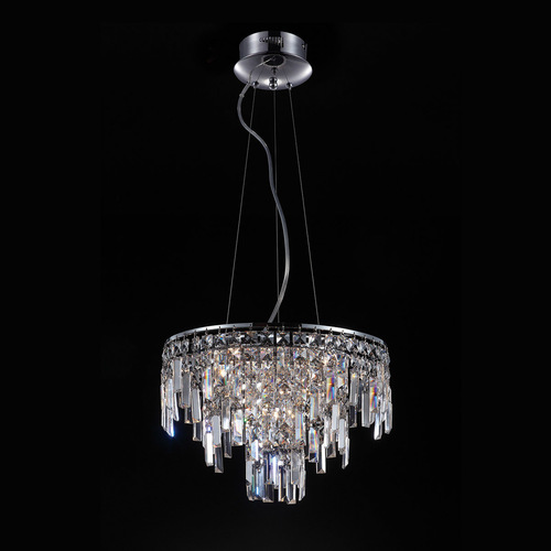 Classic Hanging Lamp with Crystals Lavenda G4 10-bulb