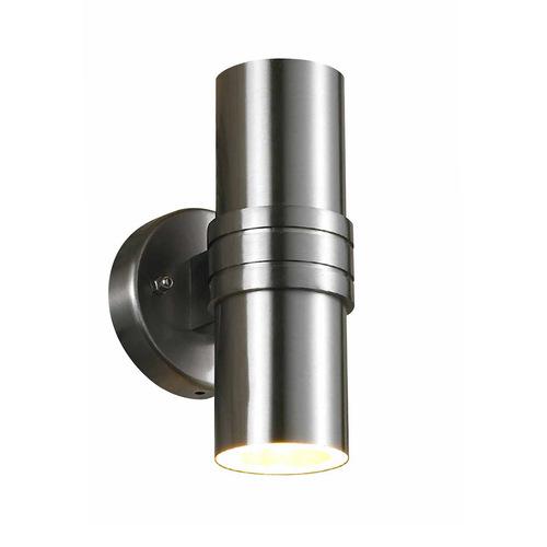 Modern Outdoor Wall Lamp Tubular GU10 2-point