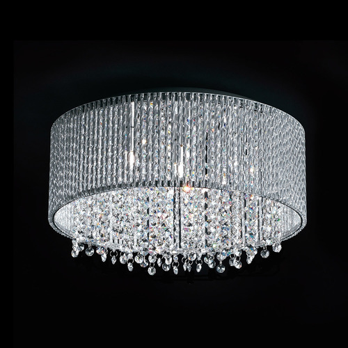 Modern Silver Anabella G9 7-point ceiling lamp
