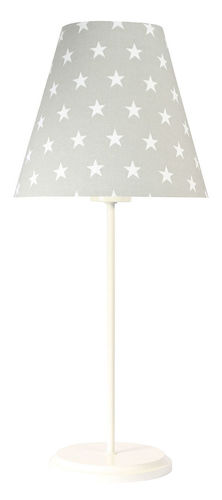 Gray table lamp Ombrello 60W E27 50cm stars