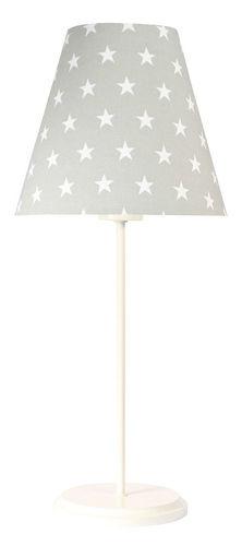 Gray table lamp Ombrello 60W E27 50cm stars