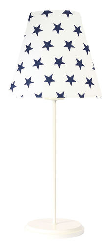 LED desk lamp Ombrello 60W E27 50cm navy blue stars