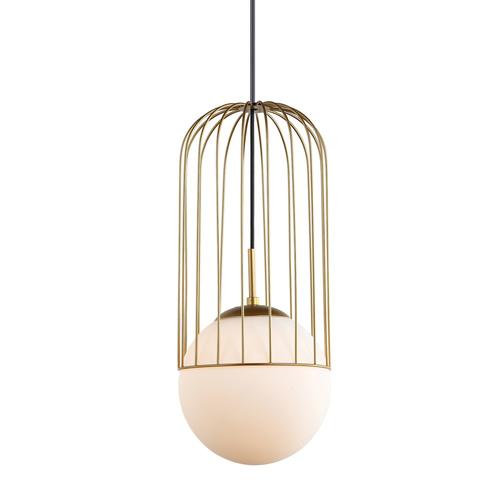 Gold Matty E27 Pendant Lamp