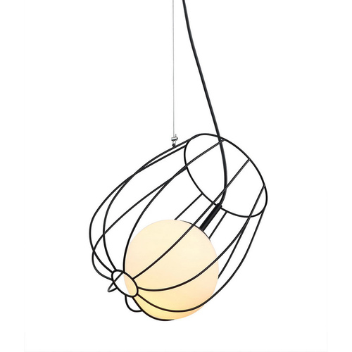 Black Melisa E27 Hanging Lamp