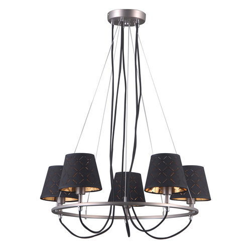 Hanging lamp Terry E14 5-bulb