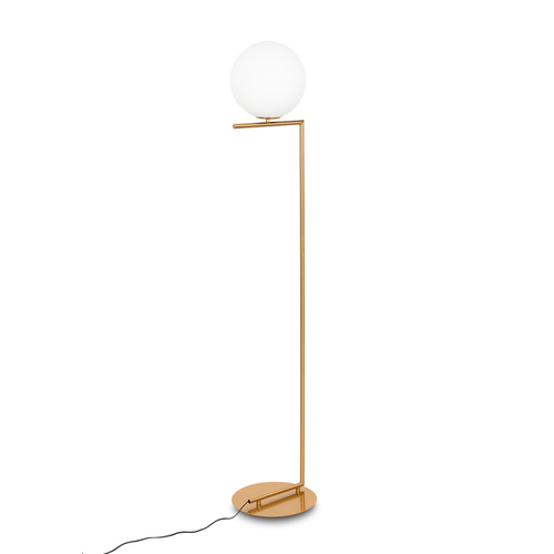 Brass Mondo E27 Floor Lamp