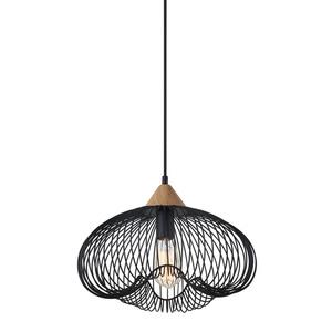 Black Hanging Lamp Nuka E27 small 0