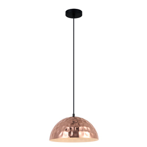Black Rasto E27 Hanging Lamp small 1