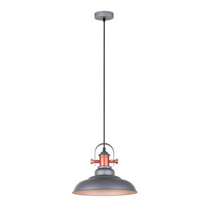 Gray Hanging Lamp Temper E27 small 1