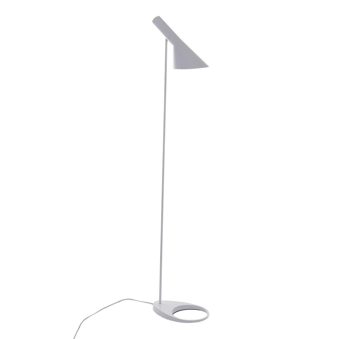 Volta E27 White Floor Lamp